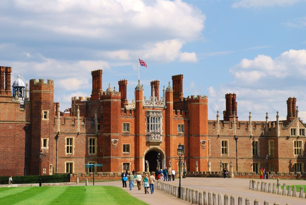 Hampton Court Palace in Surrey, England The Favourite Filming Location