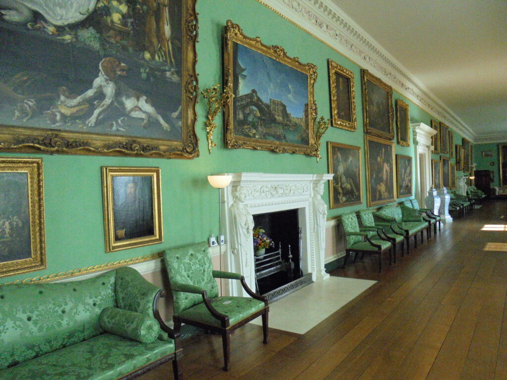 Osterley Park and House in Isleworth, Middlesex in England