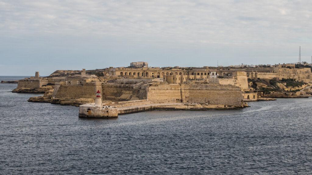 Fort Ricasoli in Kalkara, Malta Gladiator Filming Location