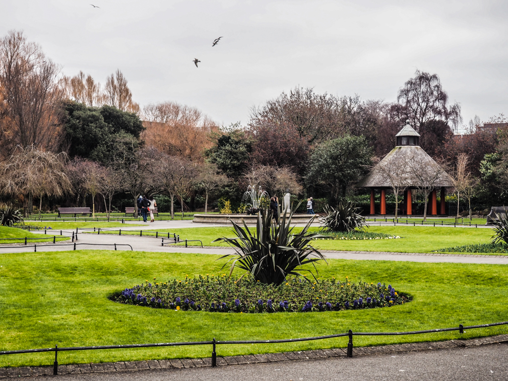 St Stephen's Green in Dublin, Ireland Leap Year Filming Location