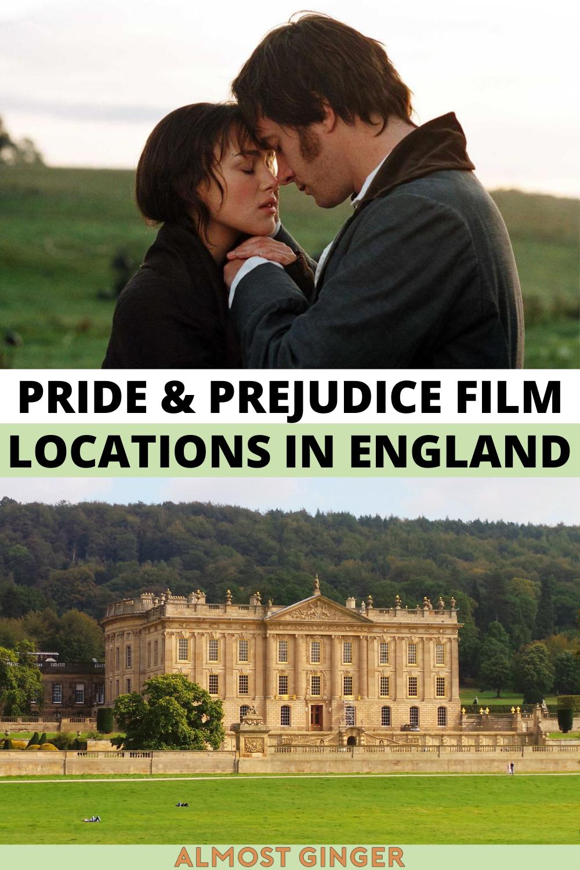Pride and Prejudice Filming Locations in England | almostginger.com
