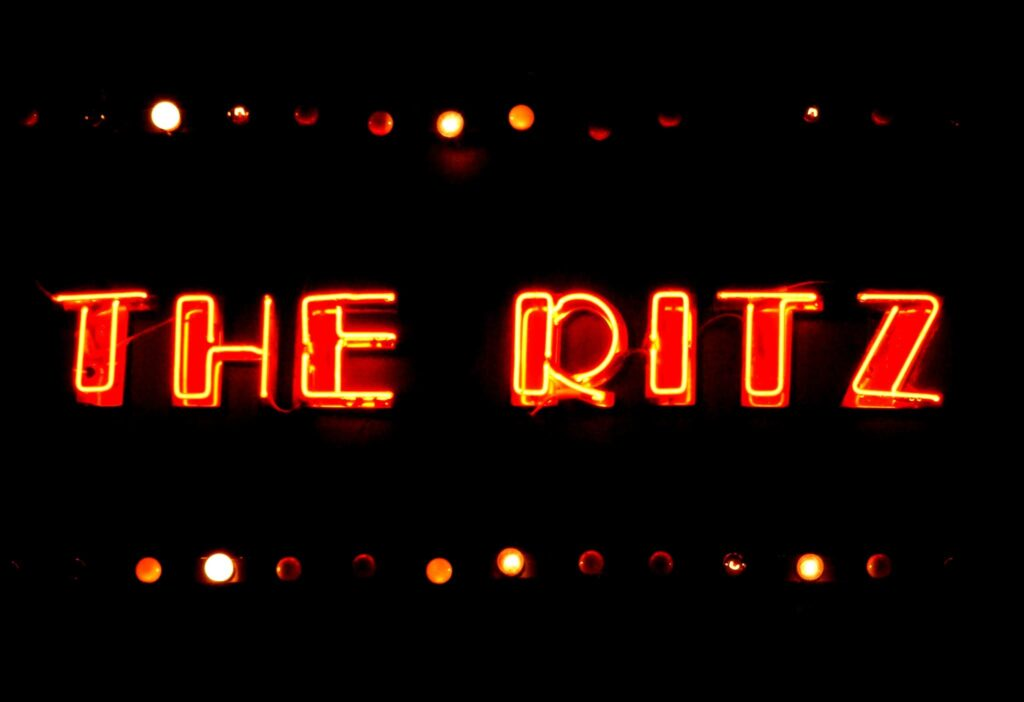 The Ritz, Whitworth Street West in Manchester, UK
