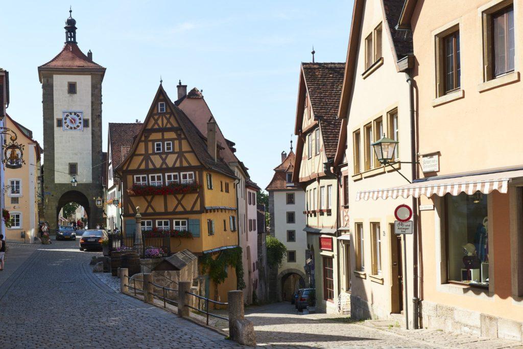 Marktplatz in Rothenburg ob der Tauber, Bavaria in Germany Chitty Chitty Bang Bang Location