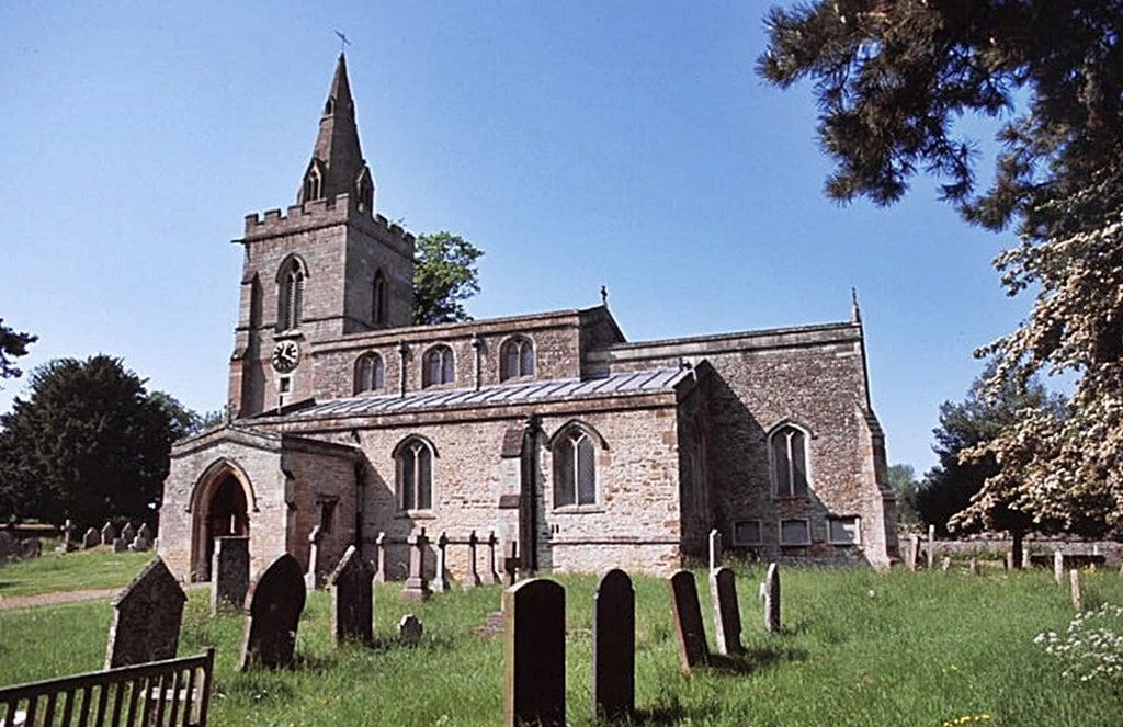 St Mary the Virgin Church in Weekley, Northamptonshire, England