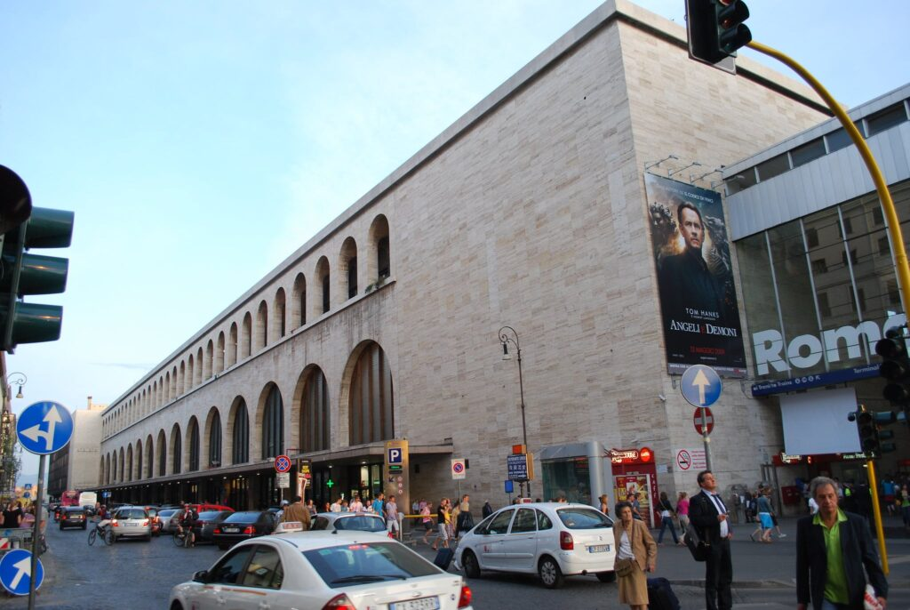 Termini Station in Rome, Italy