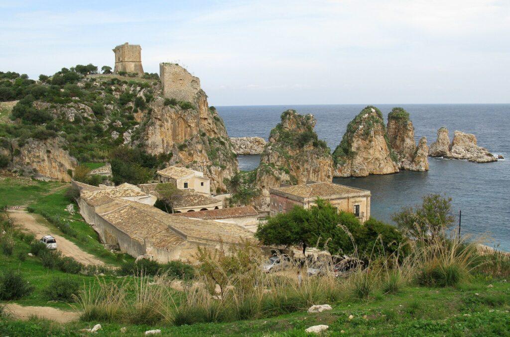 Tonnara di Scopello in Sicily, Italy Ocean's Twelve Filming Location