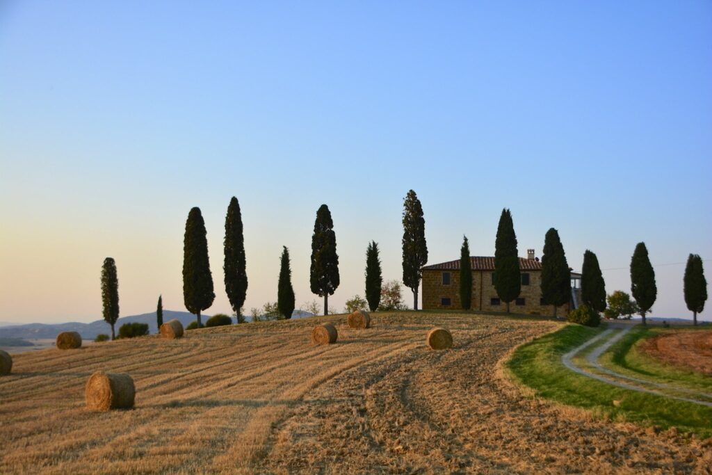 Val d'Orcia in Siena, Tuscany in Italy Gladiator Filming Location