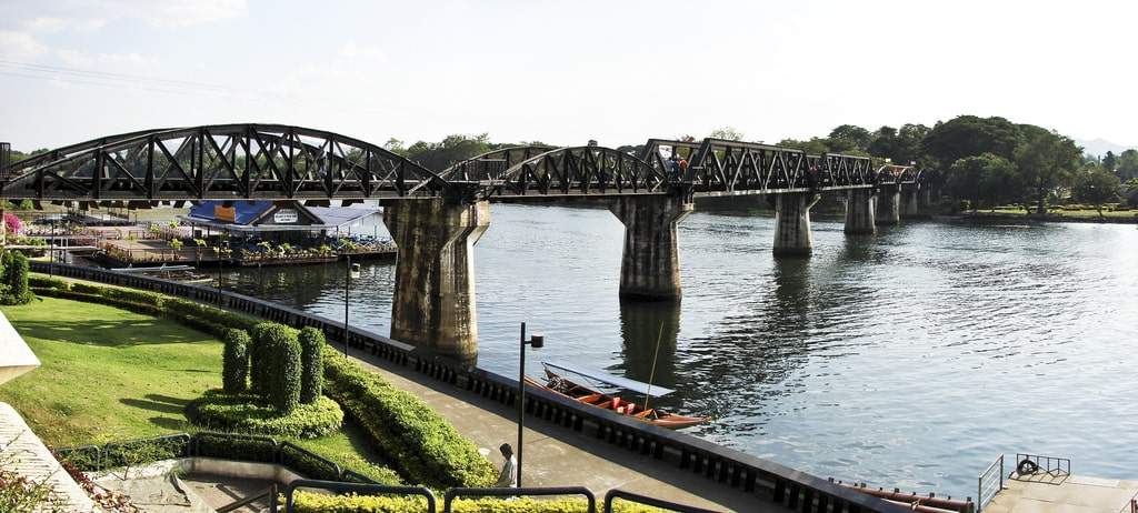 River Kwai Bridge in Kanchanaburi, Thailand The Railway Man Filming Location