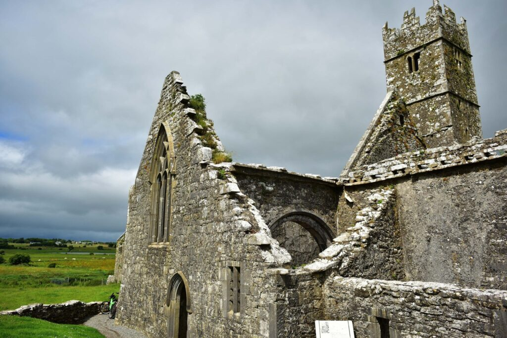 Friary of Ross in County Galway, Ireland