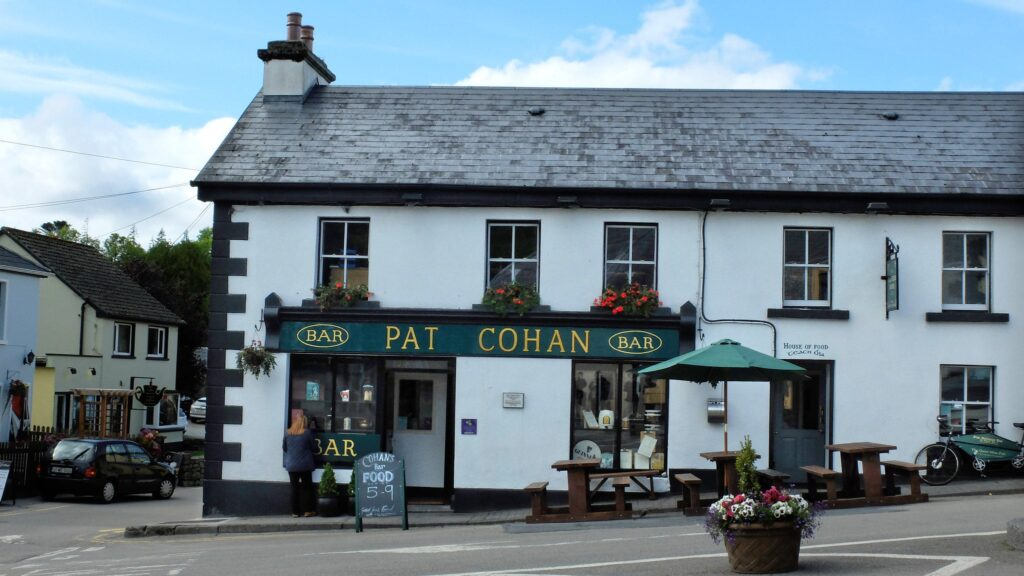 Pat Cohan's Bar in Cong, County Mayo in Ireand The Quiet Man Filming Location