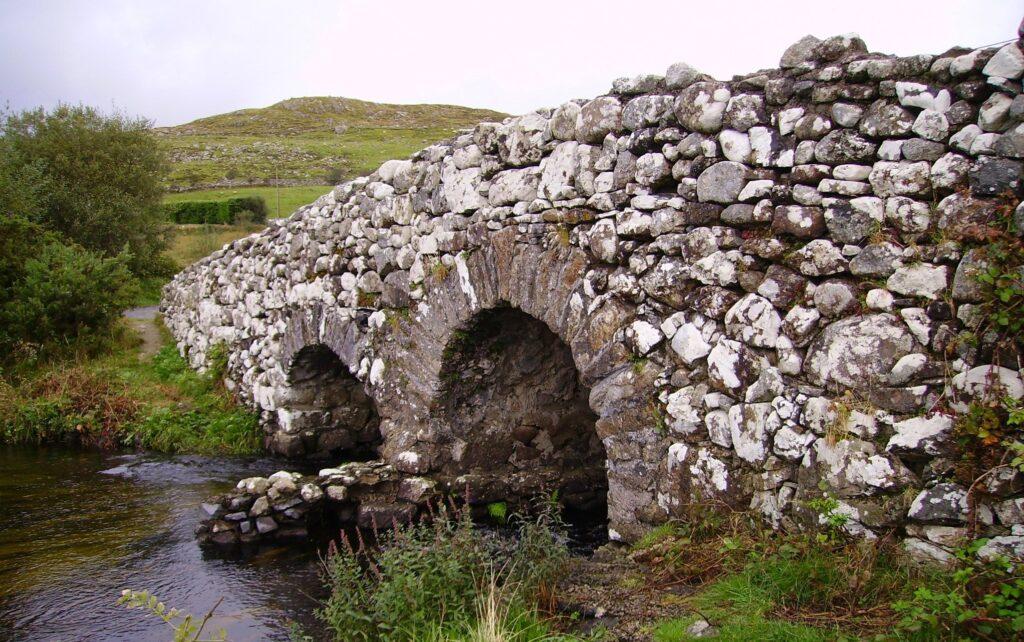 Quiet Man Bridge in County Galway, Ireland The Quiet Man Filming Location