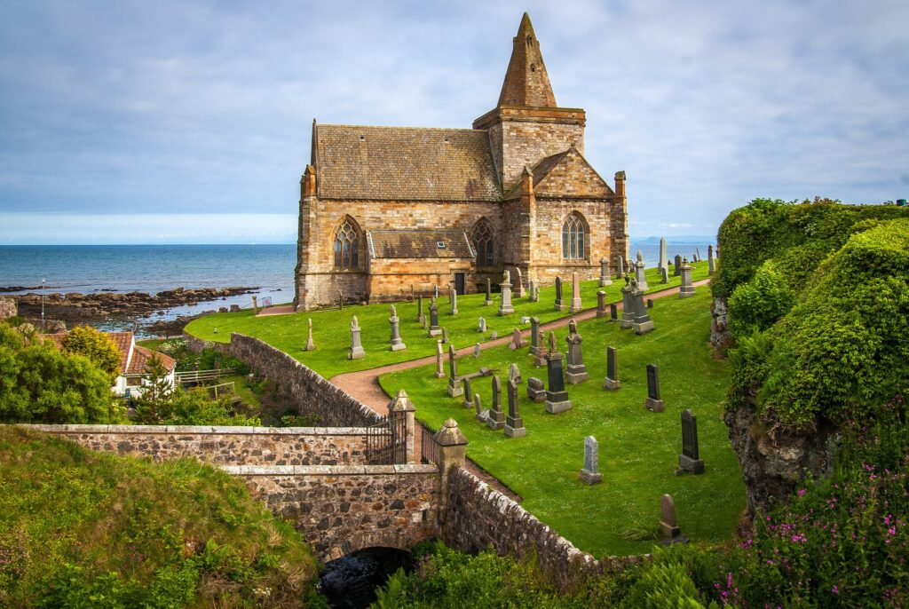 St Monans Church in Fife, Scotland The Railway Man Filming Location
