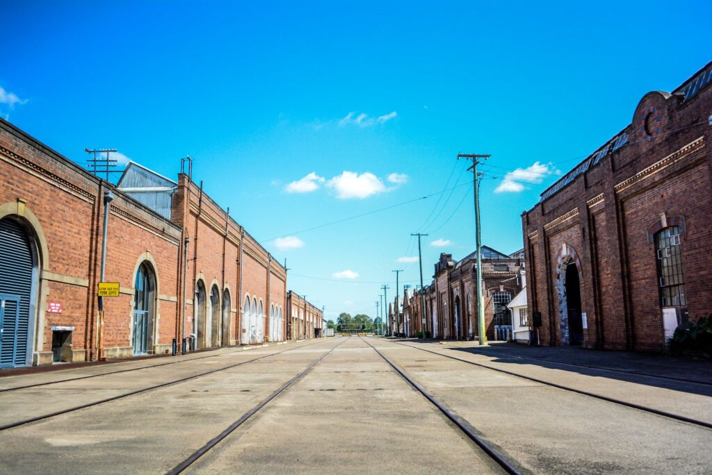 The Workshops Rail Museum in Ipswich, Queensland in Australia The Railway Man Filming Location